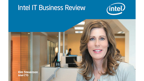 2013-14 IT performance report Intel CIO Kim Stevenson