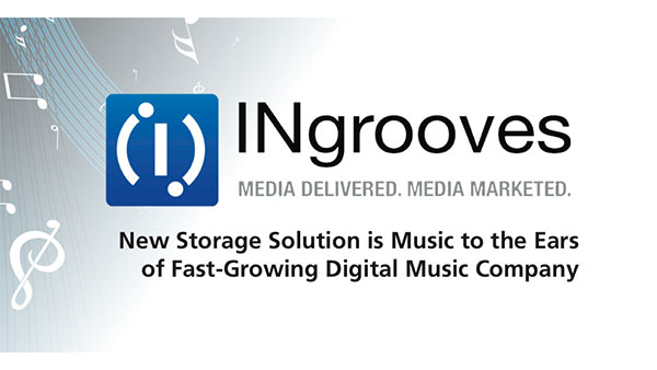 INgrooves Finds New Storage Solution is Music to the Ears