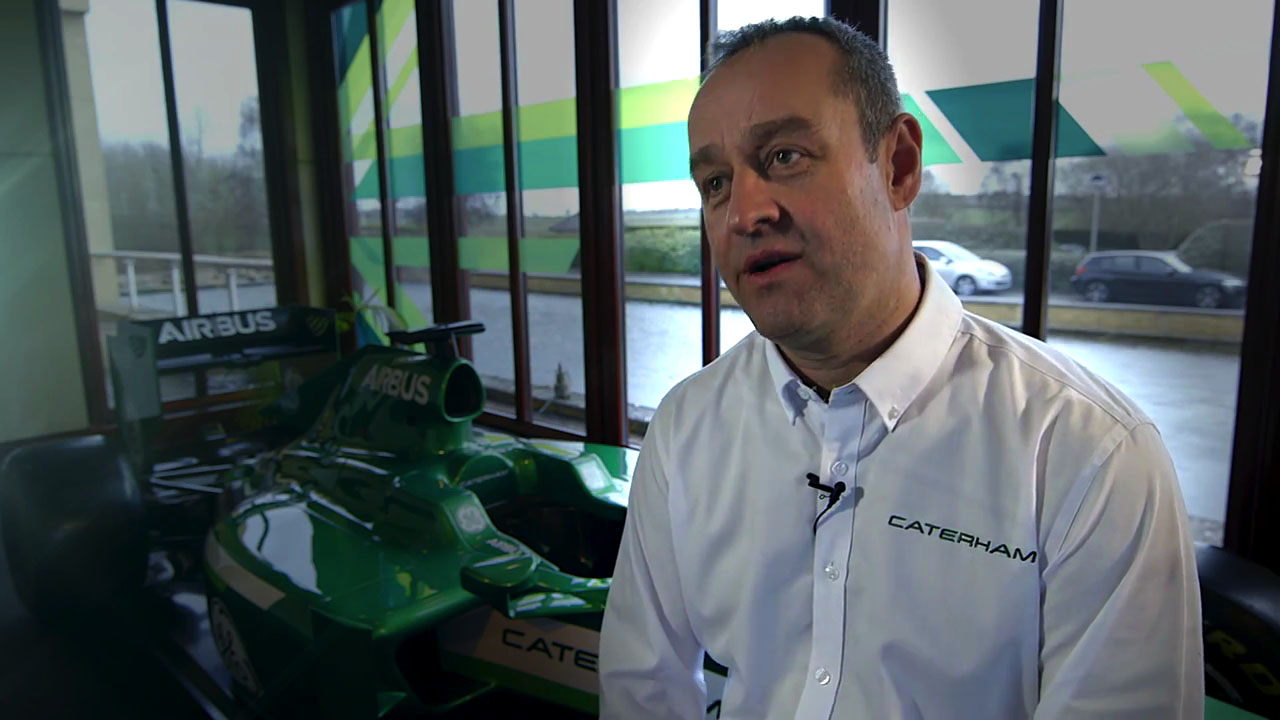 Intel and Dell Keep Caterham F1 on Track