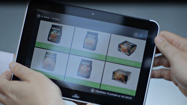 Nestle – mobility in the field